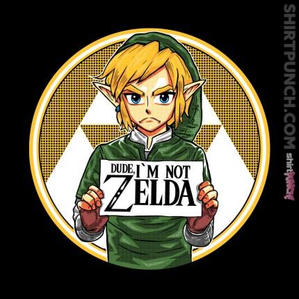Dude, I'm Not Zelda