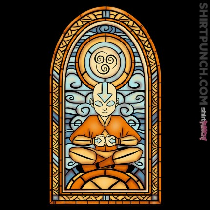 Stained Glass Aang