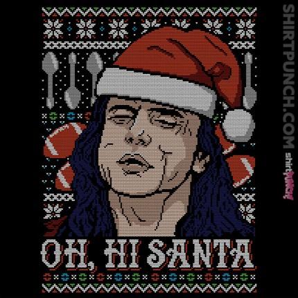 Oh hi Santa