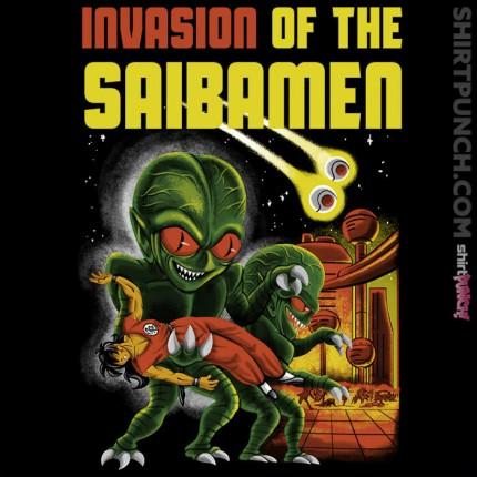 Invasion of the Saibamen