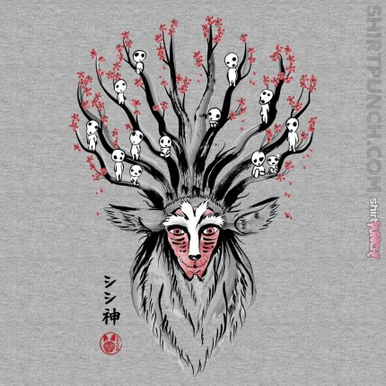 The Deer God Sumie