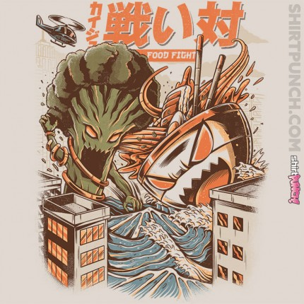 Kaiju Food Fight