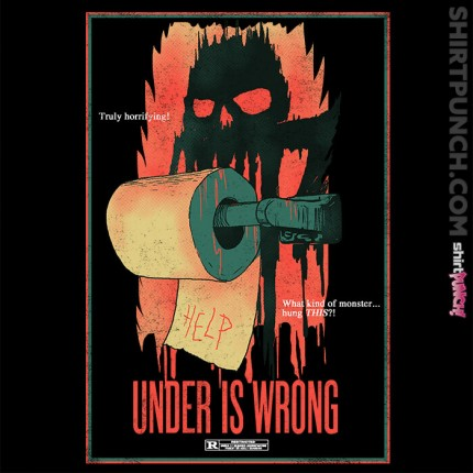 Under Is Wrong