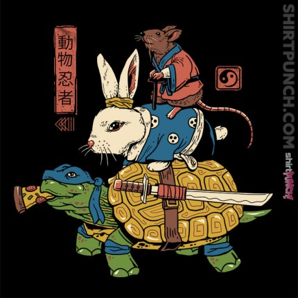 Kame, Usagi, and Ratto Ninjas