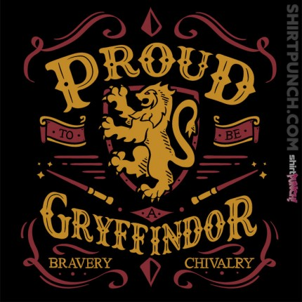 Proud to be a Gryffindor