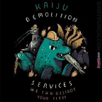 Kaiju Demolition Services
