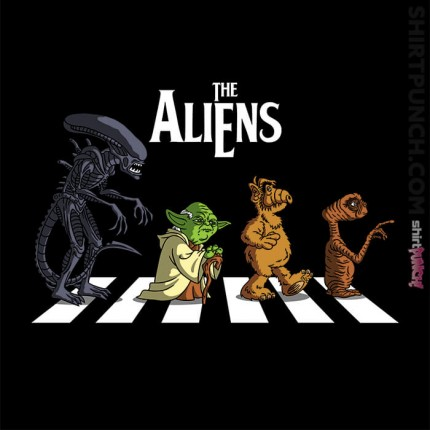 Aliens On Abbey Road