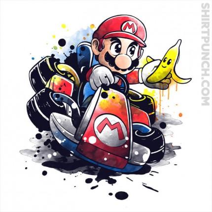 Go Kart Watercolor