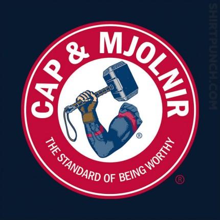 Cap And Mjolnir