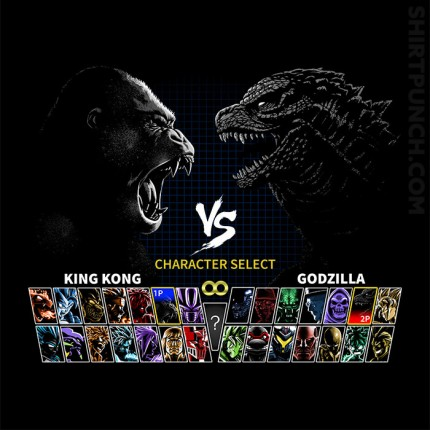 Select King VS King Of Monsters