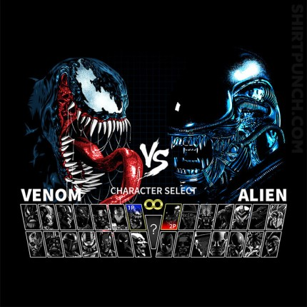 Select Venom VS Alien