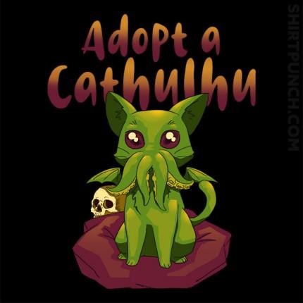 Adopt A Cathulhu