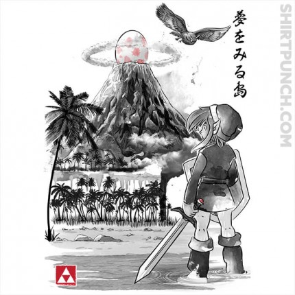 Link's Awakening Sumi-e