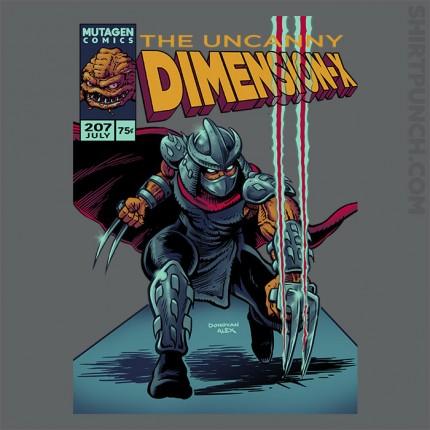 Uncanny Dimension X