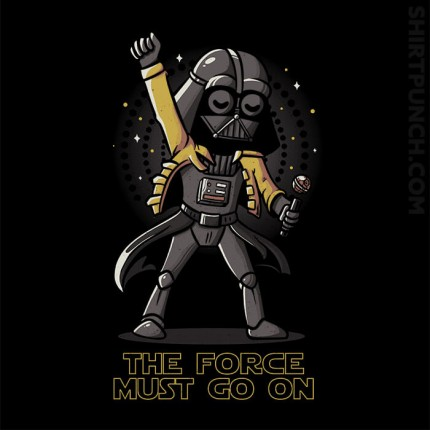 The Force Must Go On