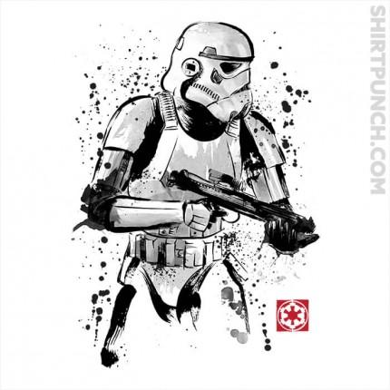 Trooper Sumi-e