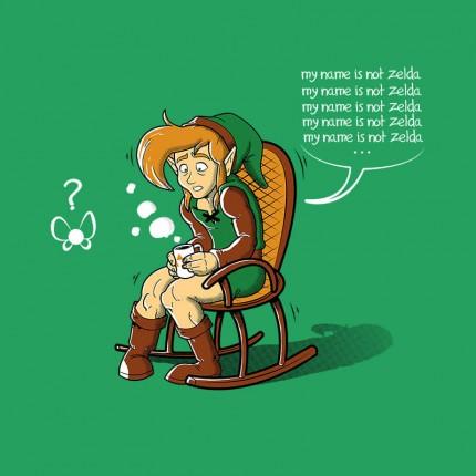 No My Name Is Not Zelda