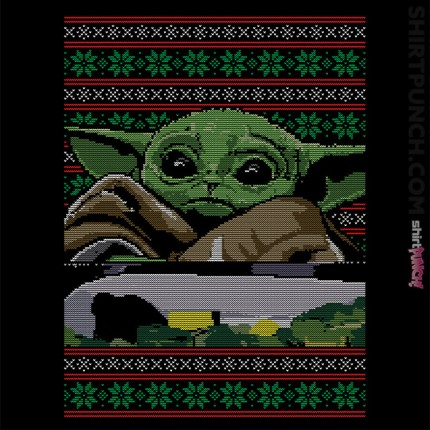 Baby Yoda Ugly Sweater
