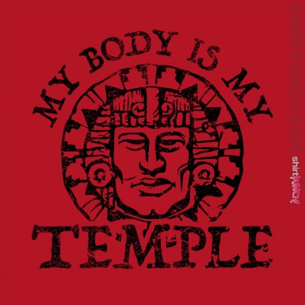 My Body Is A Hidden Temple