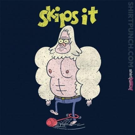 Skips It
