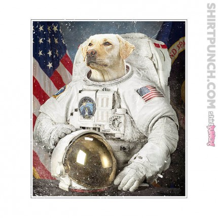 Labrador Retriever Space Explorer