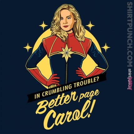 Better Page Carol