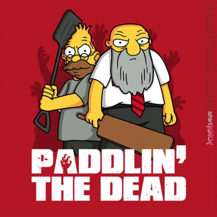 Paddlin' The Dead