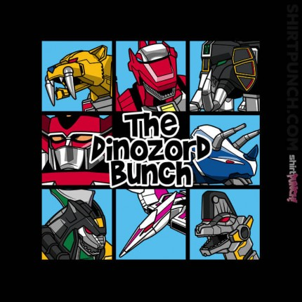 The Dinozord Bunch