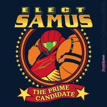 Elect Samus - The Prime Candidate