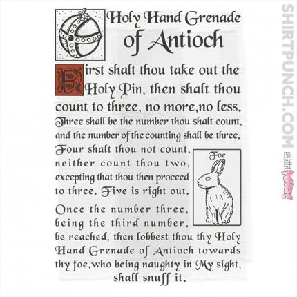 Holy Hand Grenade Script