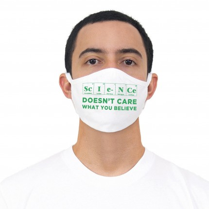Science Doesn't Care Mask