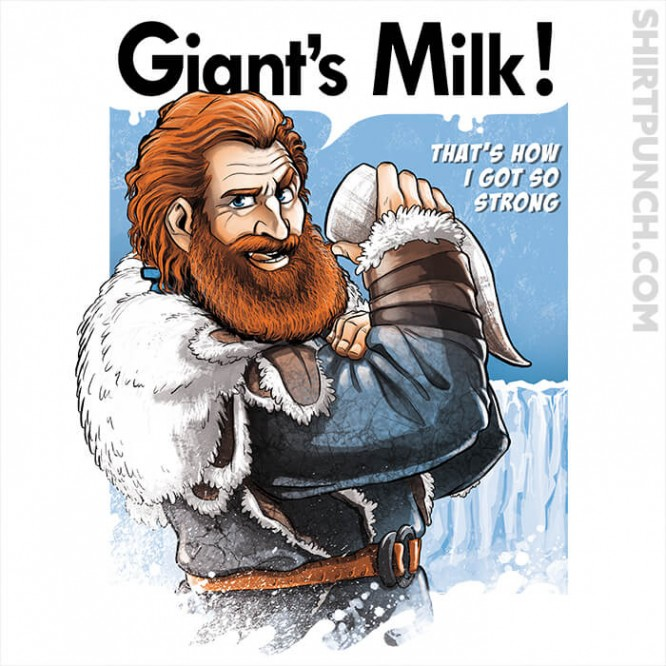 Giants Milk!