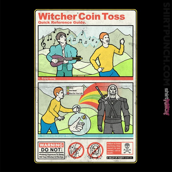 Witcher Coin Toss