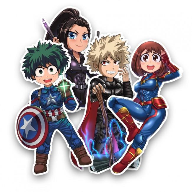 MHA/Endgame Sticker Set
