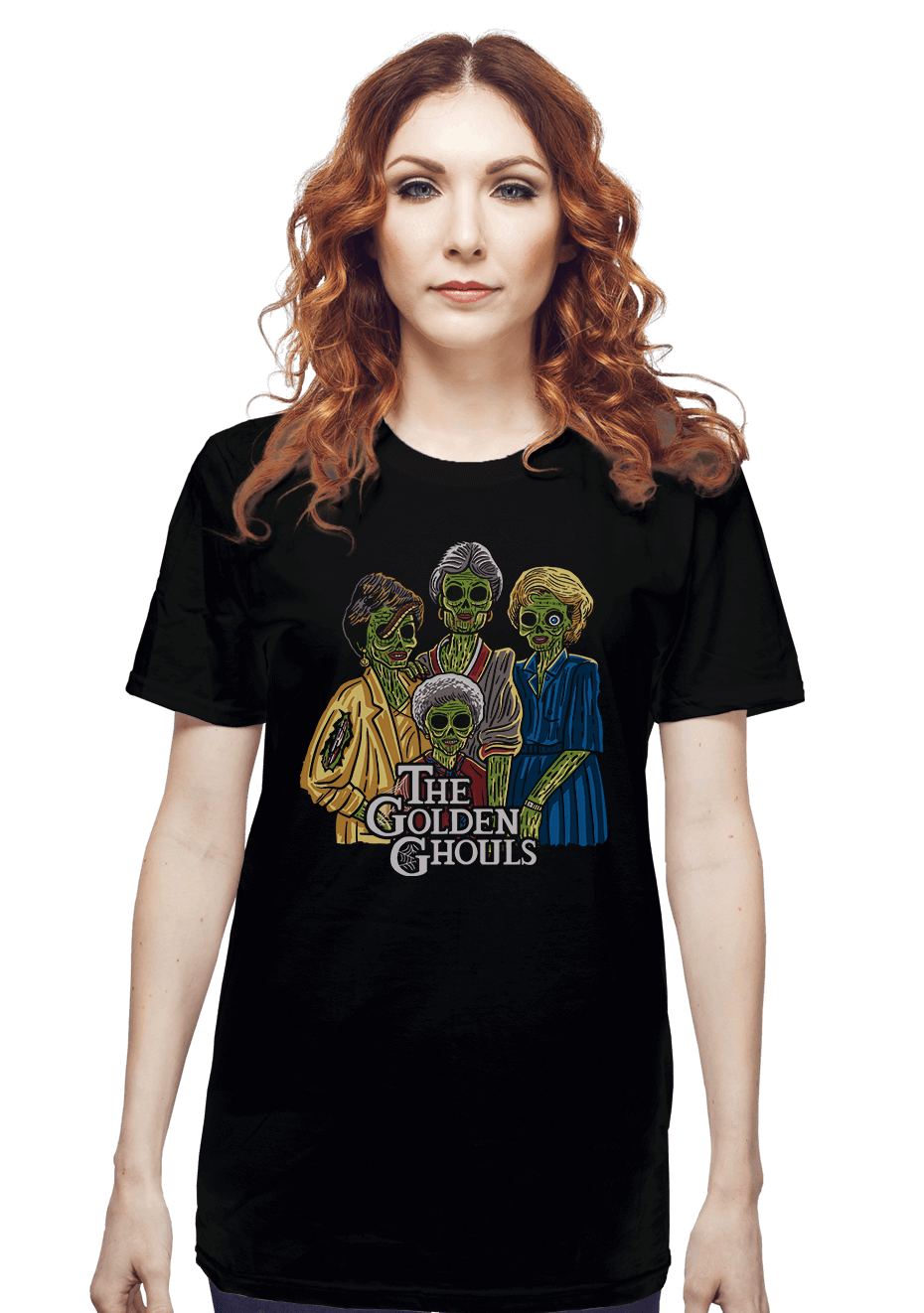 The Golden Ghouls - by ibyes illustration - Parody Tee