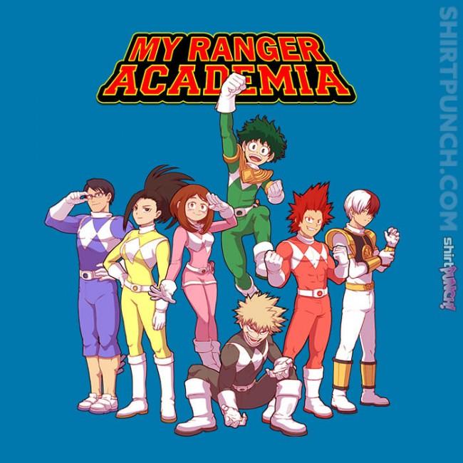 My Ranger Academia
