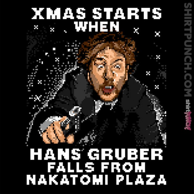 Hans Gruber Ugly Sweater