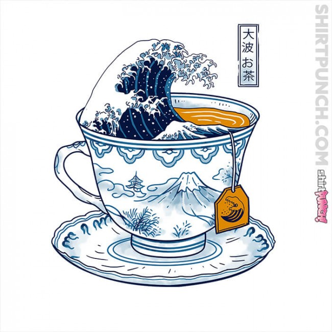 The Great Kanagawa Tea