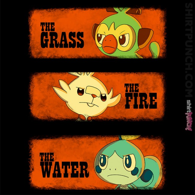 The Grass, The Fire, And The Water