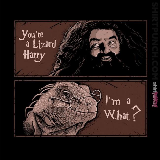 You're A Lizard