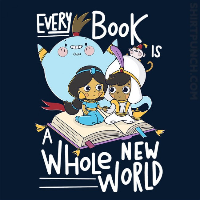 Every Book Is a Whole New World