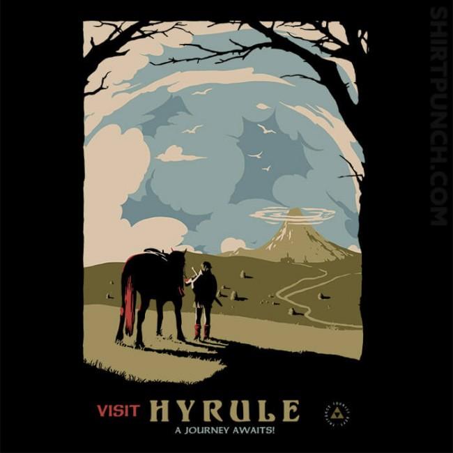 Epona Visit Hyrule