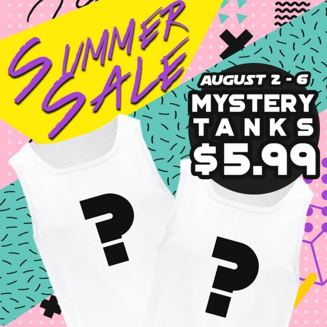 Mystery Tank | The World's Favorite Shirt Shop | ShirtPunch