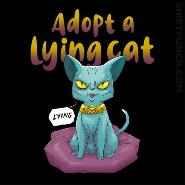 Adopt A Lying Cat