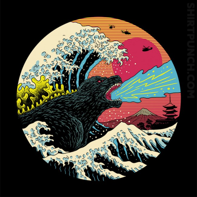 Retro Wave Kaiju