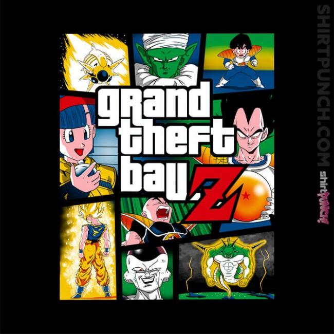 Grand Theft Ball Z