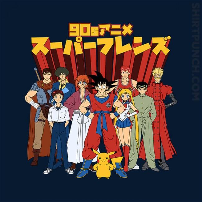 90s Anime Friends