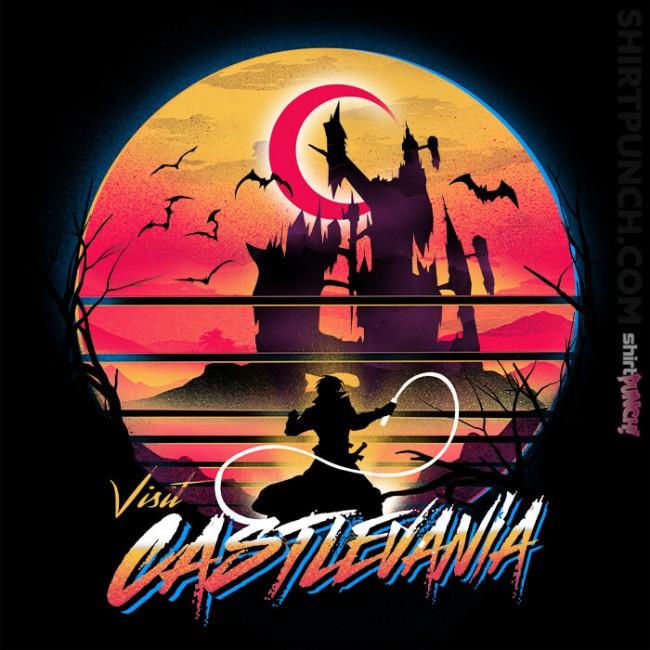 Retro Wave Castlevania