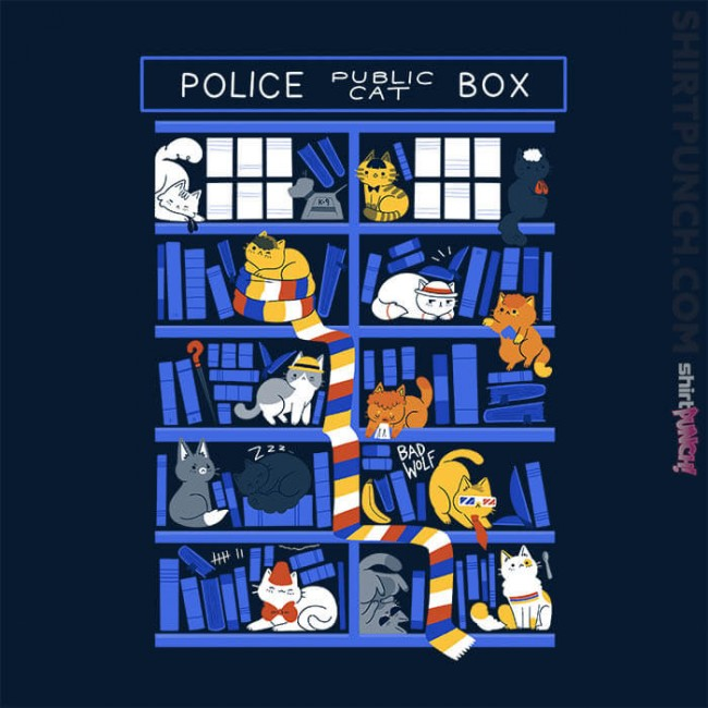Library Box Who